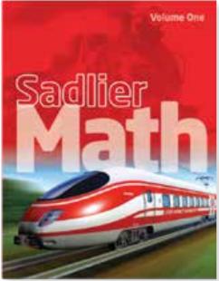 Sadlier Math Volume One Book Photo