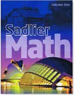 Sadlier Math Book Photo
