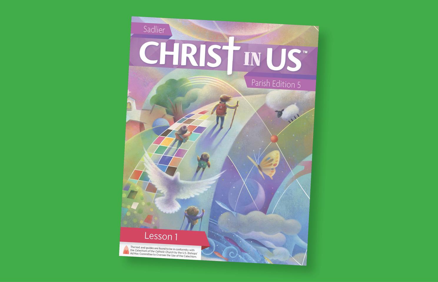 Sadlier Christ in US